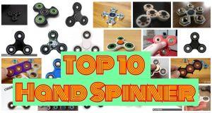 top10 meilleurs hand spinner fidget